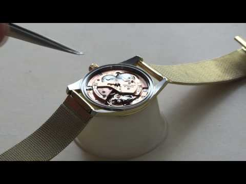 Omega Seamaster - Cleaning, folding, checking
