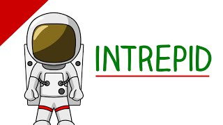 Learn English Words - Intrepid (Difficult Vocabulary With Pictures)
