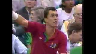 Game Penalty for Ivan Lendl