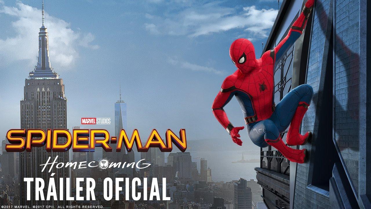 SPIDER-MAN HOMECOMING. Tráiler Oficial #2 en español HD. Ya en cines.