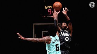 Brooklyn Nets Highlights vs. Charlotte Hornets | 4.16.2021