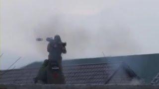 Спецоперация: Спецназ Лупит Из Гранатомета По Боевиками. 2014