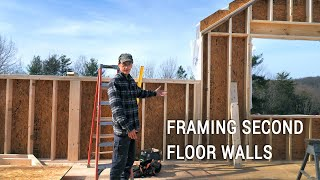ICF Mountain Homestead: Framing the Second Floor Walls