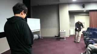 Akio Suzuki Demonstrating the Analapos