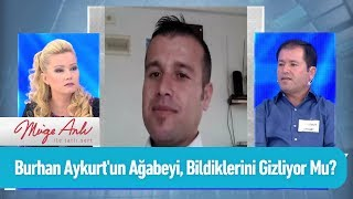 Burhan Aykurt'un ağabeyi bildiklerini gizliyor mu? - Müge Anlı ile Tatlı Sert 16 Eylül 2019