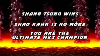 Ultimate Mortal Kombat 3 Gameplay Shang Tsung