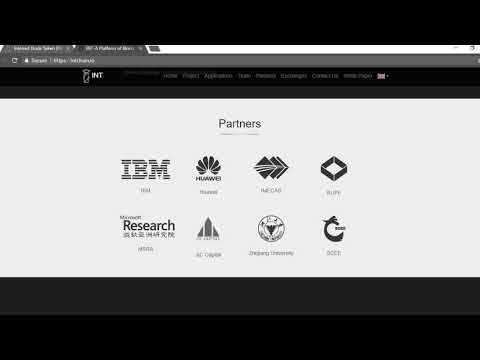 NEXT IOTA!? Internet Node Token(INT) Partners with IBM, Huawei, etc..