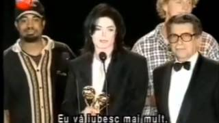 Michael Jackson says I love you