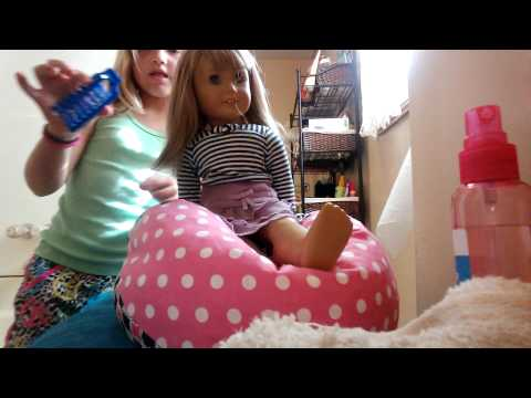 Elayna's talk about American girl dolls