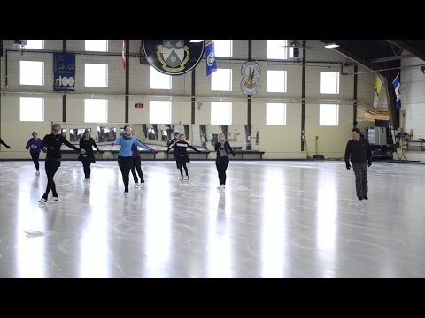 Figure skating lessons from Olympic medallist Brian Orser