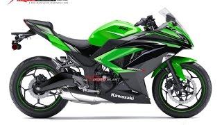 2017 Ninja 250 Ninja 300 โฉมใหม่ หรือ โฉมเดิม กับภาพ Render : motorcycle