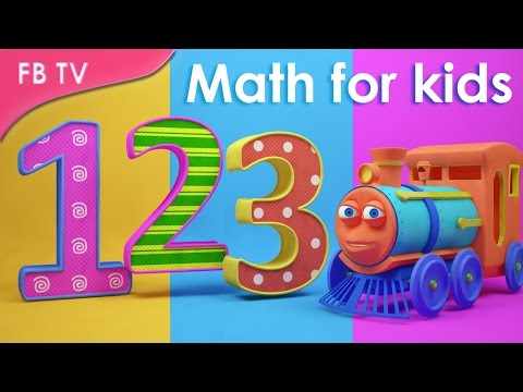 How to learn the numbers | Numbers 1 - 10 from Funny Bunny TV