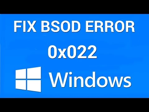 How to Fix Stop Error 0xc0000022
