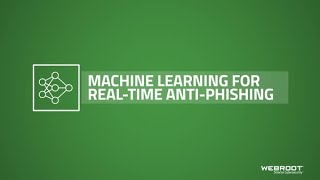 Machine Learning for Real-Time Anti-Phishing | #WebrootQTT