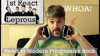 First Ever React to Leprous | At the Bottom