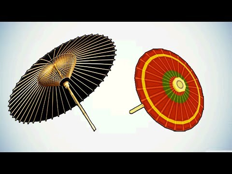 Umbrella-How to make DIY Paper Umbrella-Mr.Paper Crafts