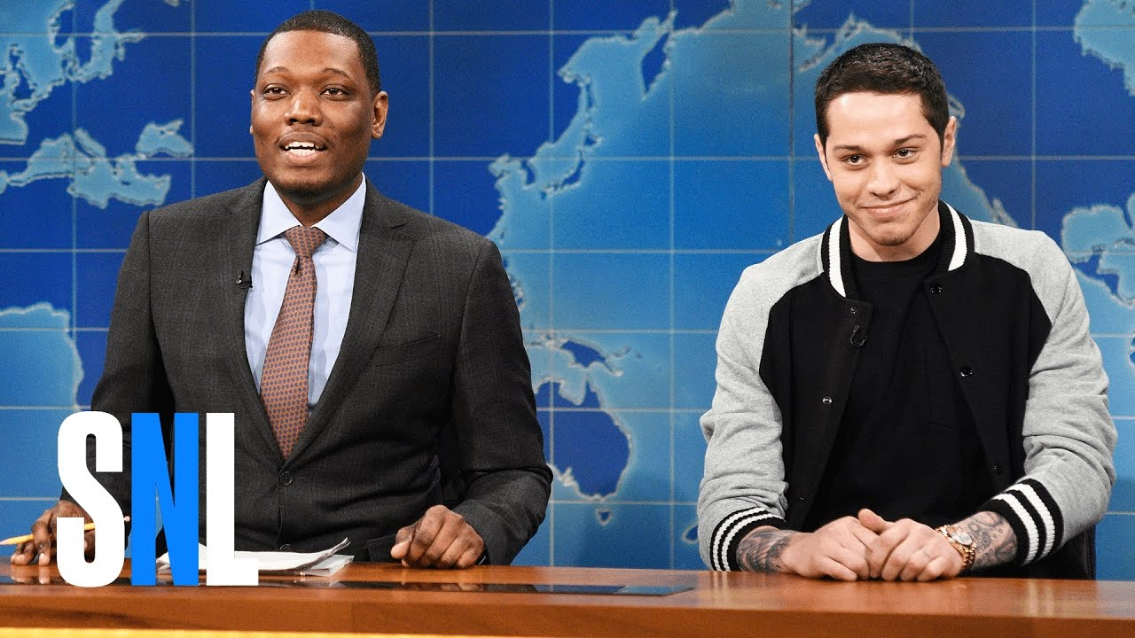 Weekend Update: Pete Davidson's First Impressions - SNL - YouTube
