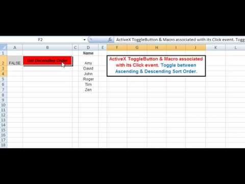 Activex toggle button event procedure in excel vba youtube activex toggle button event procedure in excel vba ibookread ePUb