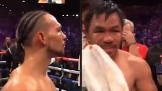 マニー・パッキャオVSキース・サーマン WBA世界ウエルター級王座統一戦
