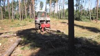 Захват для трелювання лісу, гідрозахват усилений - ПТБ-4,5 У-2