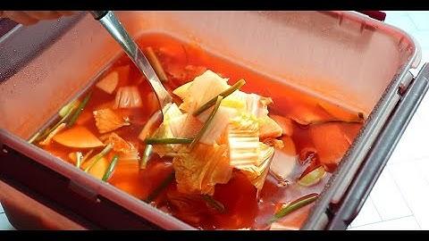 알토란 나박김치 담그는법 시원하고 깔끔한 이 맛!