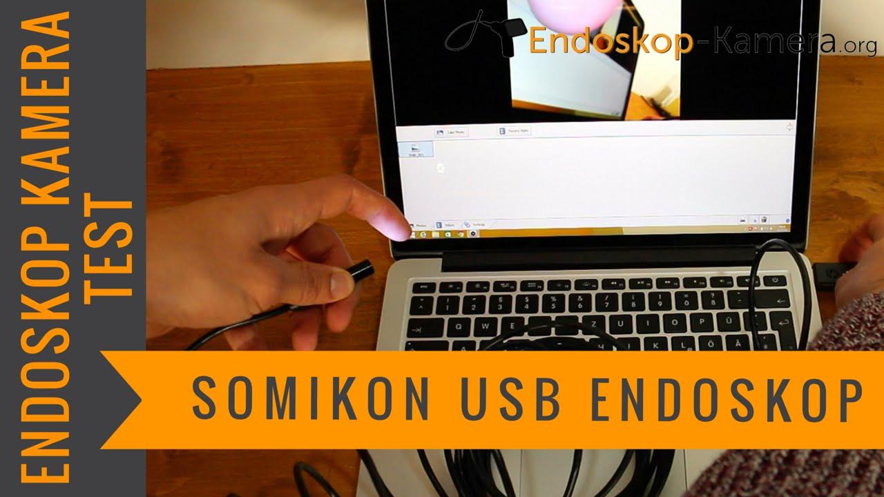somikon usb endoskop kamera test youtube. Black Bedroom Furniture Sets. Home Design Ideas