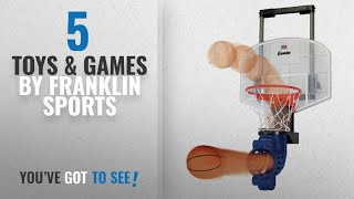 Top 10 Franklin Sports Toys & Games [2018]: Franklin Sports Shoot Again Basketball