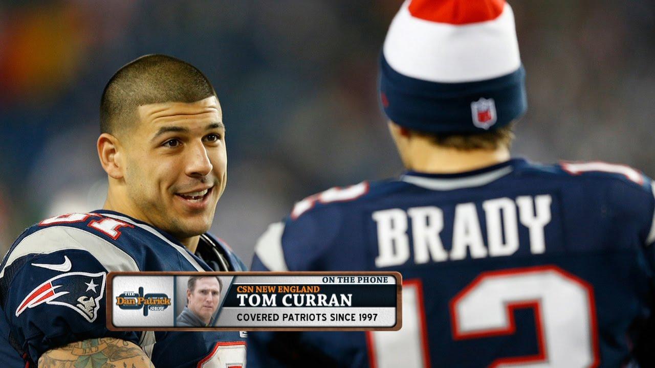 4bdb894f6 CSN New England s Tom Curran  Aaron Hernandez