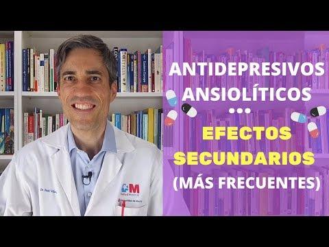 Antidepresivos, Ansiolíticos Y Antipsicóticos: Efectos Secundarios Más Frecuentes.