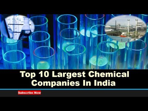 Top 10 Largest Chemical Companies In India in 2018