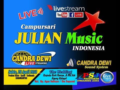 LIVE//CANDRA DEWI TV//Cs. JULIAN MUSIC // Suruh Tasikmadu 28 April 2018