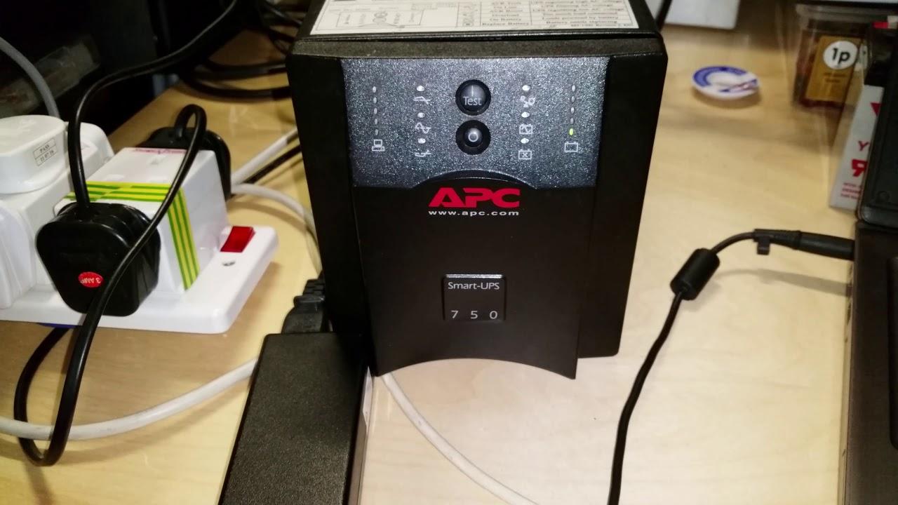 apc smart ups 750 gets new batteries re calibrated home network backup power supply yuasa np7  [ 1280 x 720 Pixel ]