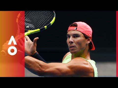 Rafael Nadal welcome to the Australian Open | Australian Open 2018