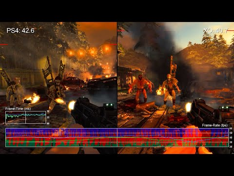 Shadow Warrior: PS4 vs Xbox One Frame-Rate Test