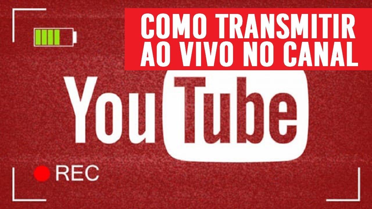 fe071dff9ce13 Como fazer 🔴 Live (Transmissão ao vivo) no Youtube   Como usar o ...