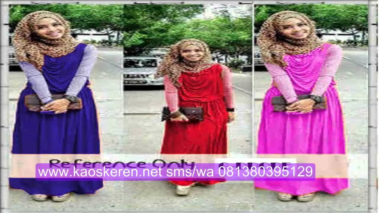Model Baju Gamis Muslim Remaja Modern Modis Busana