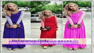 Model Baju Gamis Muslim Remaja Modern Modis | Busana Remaja Syar'i terbaru di chibyshop.com