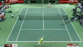 Virtua Tennis 3: A. Roddick VS King - Tiebreak Very Hard!