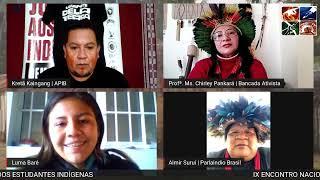 IX Encontro Nacional dos Estudantes Indígenas   PRÉ EVENTO VIRTUAL 2º dia – EDITADO