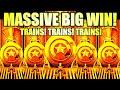 ★MASSIVE BIG WIN!★ 🚂 NEW CASH EXPRESS LUXURY LINE Slot Machine (Aristocrat Gaming)