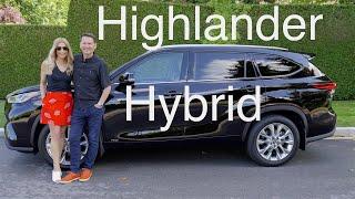 2020 Toyota Highlander Hybrid …
