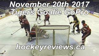 November 20th 2017 Tigers Hockey Goalie GoPro