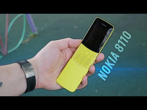 Nokia 8110 -  Обзор
