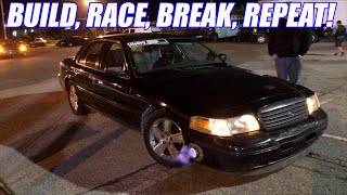 We Broke Our Donated Turbo Crown Vic Here's What Happened! +Porting Finale! EXTREMELY SATISFYING