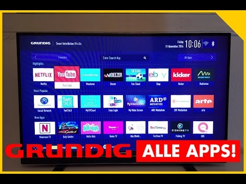 grundig-smart-tv-apps!-grundig-smarttv-43-gfb-6621-test---smart-tv-application-store-testbericht