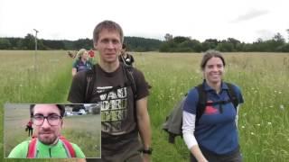 2 Beine wandern 46 Kilometer in 2:46 min