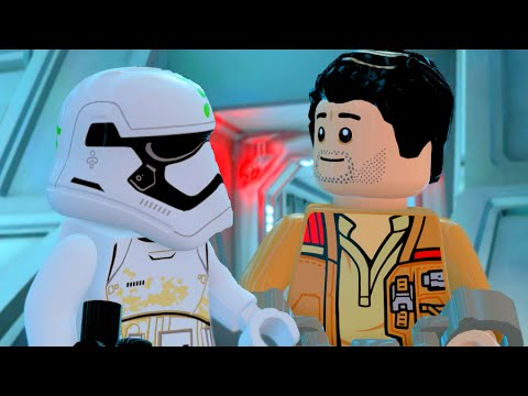 LEGO Star Wars The Force Awakens Finn & Poe Escape the First Order