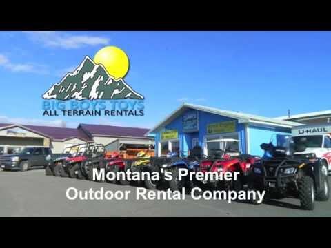 Bozeman, MT | Recreational Equipment Rental | Big Boys Toys