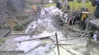 Грязная работа  Бурение скважины МГБУ 55 м
