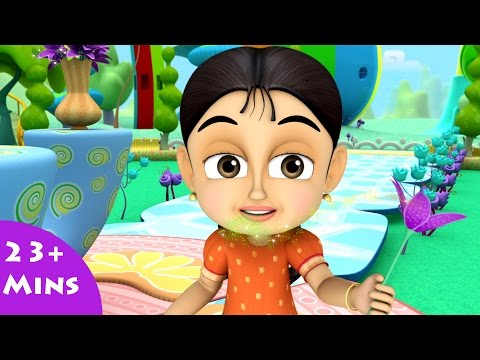 RainBozzles and Dazzle Flowers|Cartoon Video Song,Kids Shows,Toddler Learning Video ,Animation,